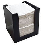 Quarter Fold Napkin Holder BLACK ACRYLIC ONLY