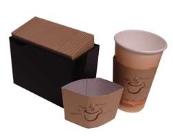 Coffee cup Sleeve or Hot Cup holder  Java Jacket
