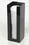 Expansion Coffee Cup or Lid Sleeve BLACK ACRYLIC ONLY