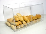Bulk Bread Storage 2 wide Bin