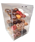 Pastry or donut display case